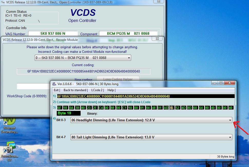 Fourtitude com - VCDS MKVI / MK6 Platform, Handy Coding tweaks