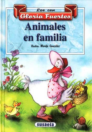 Cubierta de Animales en familia