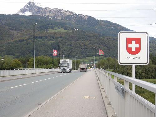 スイス入国