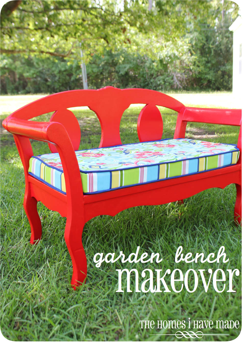 Red Bench-001