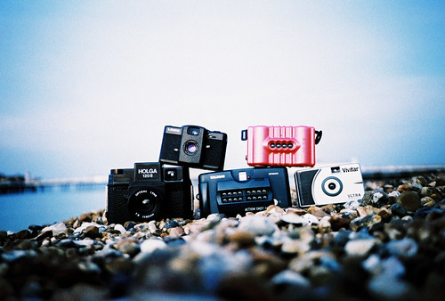 Toy Cameras and a Lomo LCA #1