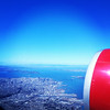 San Francisco from Virgin America