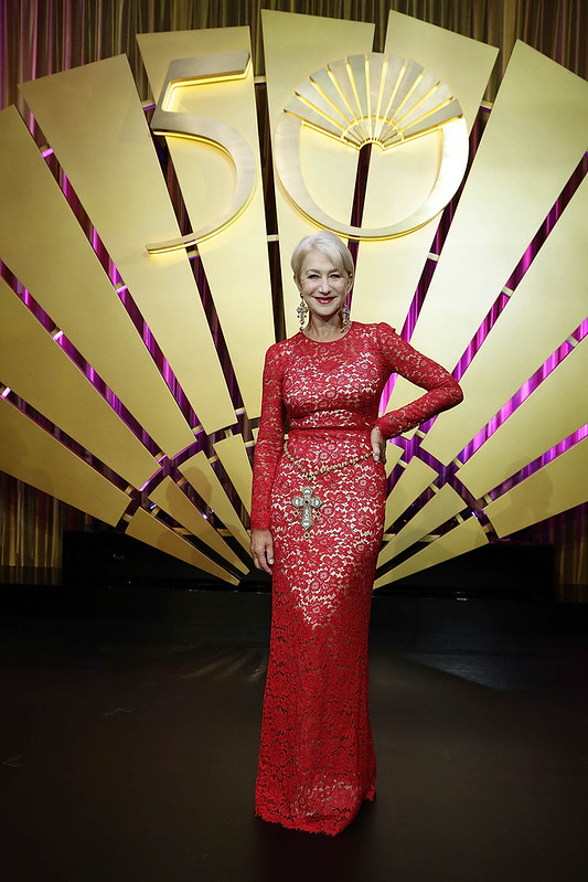 Dame Helen Mirren at Mandarin Oriental Hong Kong 50th Gala Oct 17.JPG