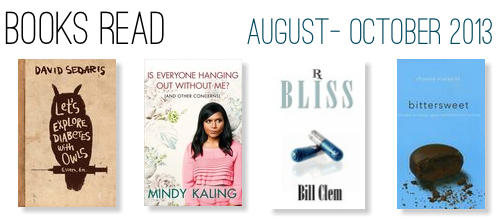 B.Read List: August - October 2013