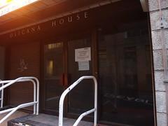Olicana House fornt entrance
