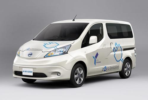 100%電気商用車「e-NV200」