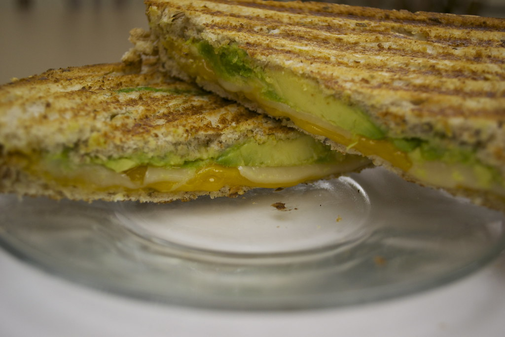 cheddar and avocado