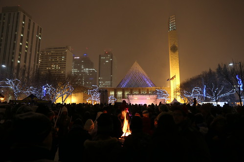 Holiday Light Up on the Square