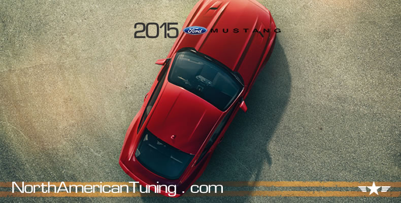 2015 Ford Mustang Unveiling Roof and Hood