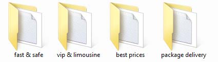 third level of folders