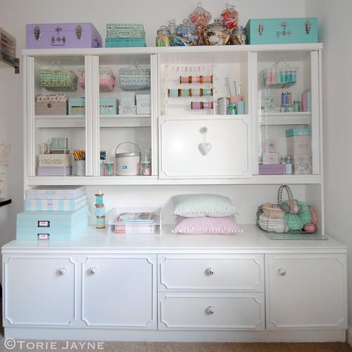 My 99p dresser after