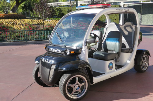 ANA PD Vehicle In Downtown Disney