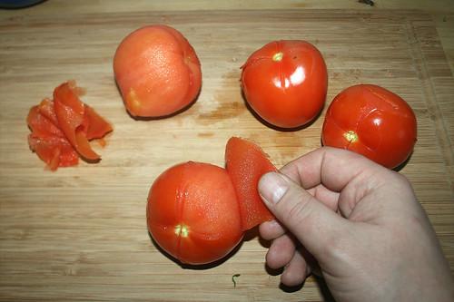 20 - Tomaten schälen / Peel tomatoes