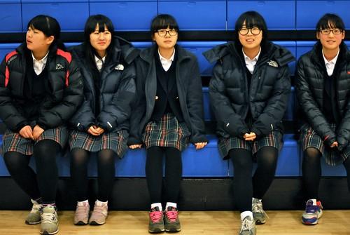 Good Neighbor Tour for O-sung Middle School Students - U.S. Army Garrison Humphreys, South Korea - 16 Dec. 2013