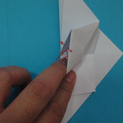 วิธีการพับกระดาษเป็นนกเพนกวิ้น 023