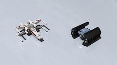 4484 - MINI X-Wing Fighter & TIE Advanced