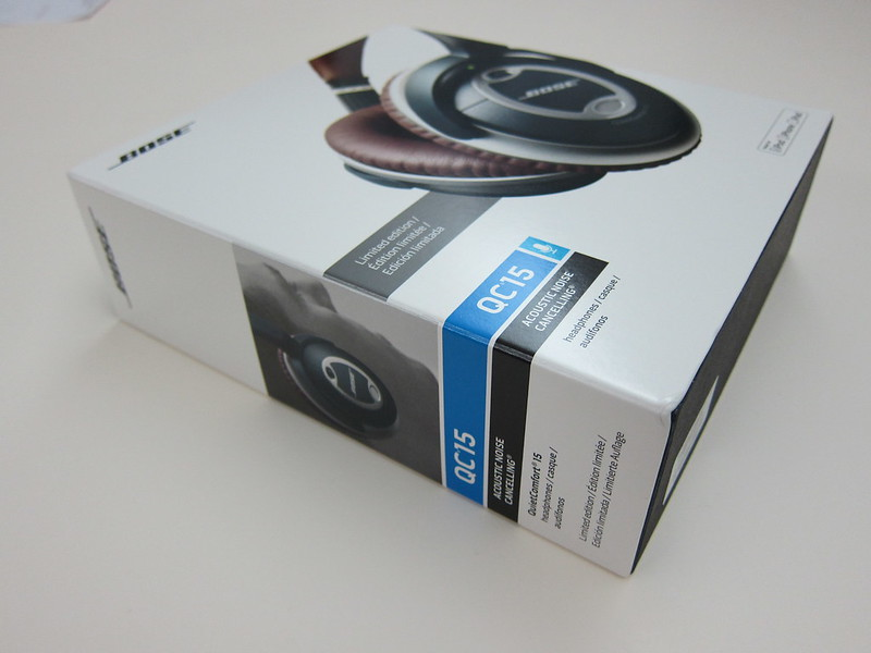 Bose QC15 - Box