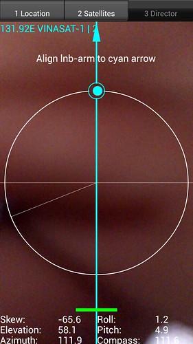 Satellite director - Phần mềm hỗ trợ lắp chảo parabol trên Android 11923013914_9070f6390c
