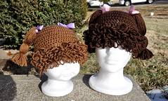 Cabbage Patch Inspired Hats