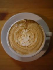 Today's latte, MESOS. #geeklatte