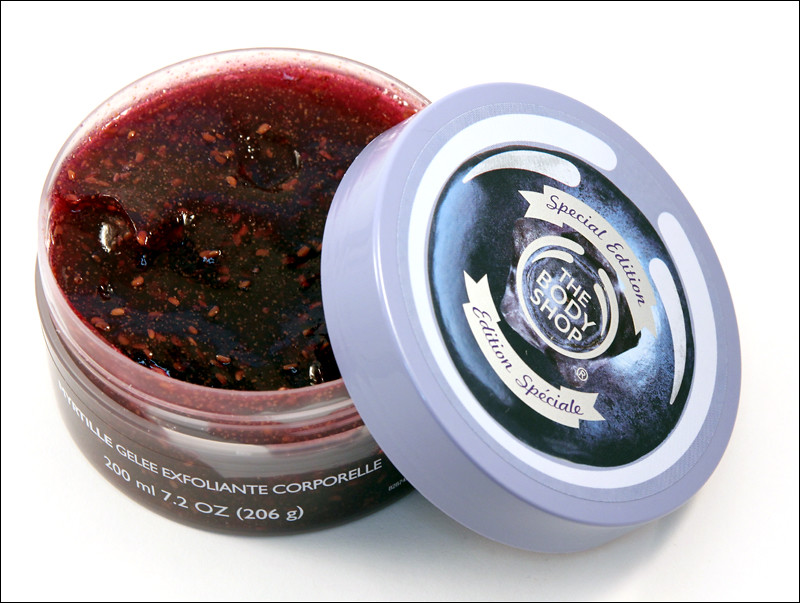 TBS blueberry special edition body scrub-gelee