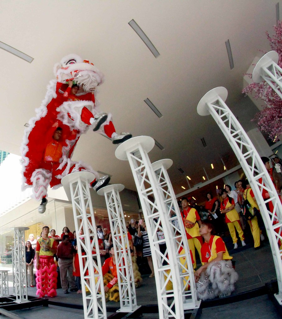 Avenue K - Lion Dance performance (3)