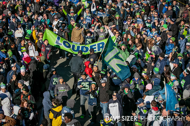 Seahawks Superbowl Parade from Flickr via Wylio
