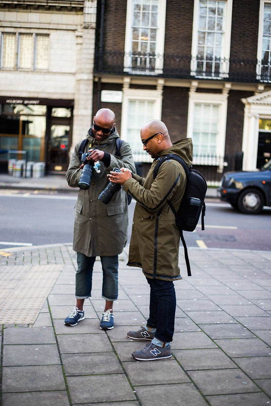 Street Style - David Nyanzi & Abdel Abdulai, London Collections: Men