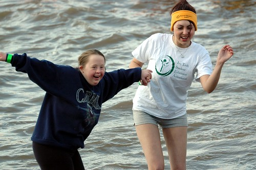 The Polar Plunge in Eagle Creek Park coming March 1st, 2014.