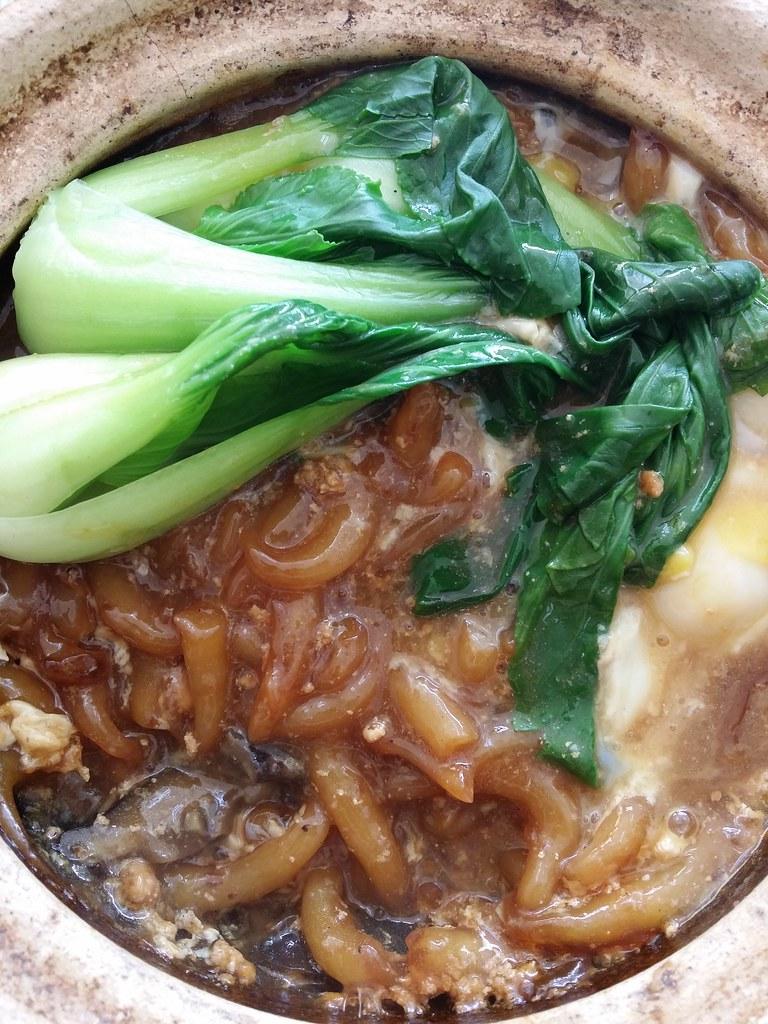 友族的瓦煲老鼠粉,不错 Malay Claypot rat noodle, not bad