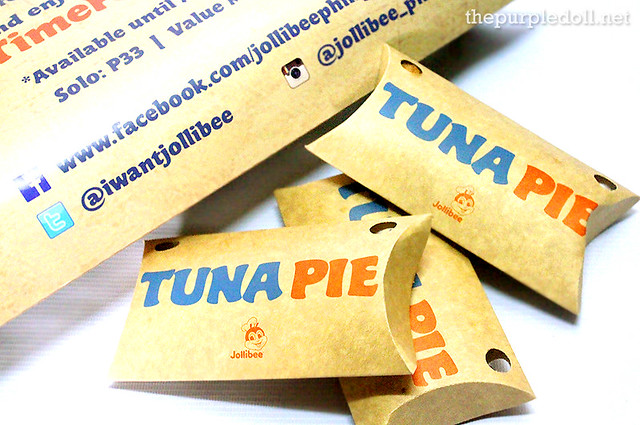Jollibee's Tuna Pie Limited Time Only