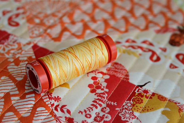 Happy Yellow Aurifil