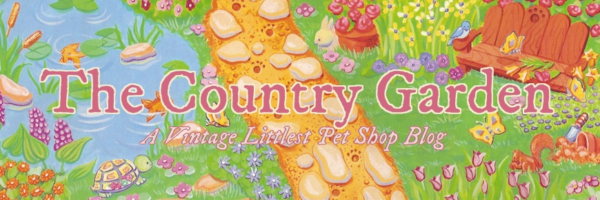 The Country Garden: A Vintage Littlest Pet Shop Blog