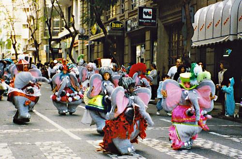 Carnaval parade, Tenerife