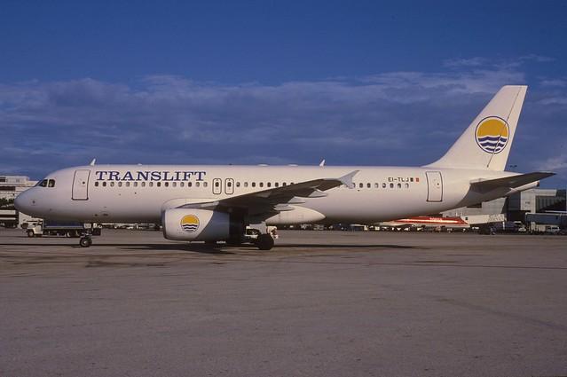 Translift Airbus A320-231; EI-TLJ, January 1996