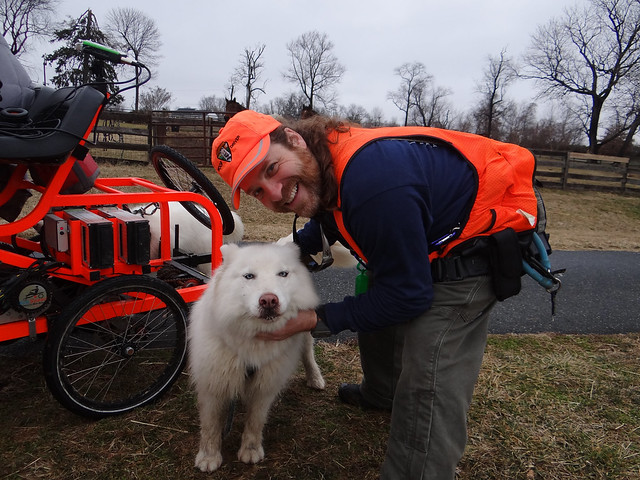 WooFHouse - BWI Trail Linthicum Maryland Ride Gina DeLuca 2.11.2013