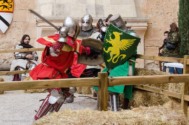 Cuenca - Castillo de Belmonte y combate medieval