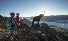 Rozlehlé cyklotrasy– Piz Nair