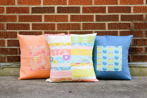 Dreamin' Vintage Quilted Pillows