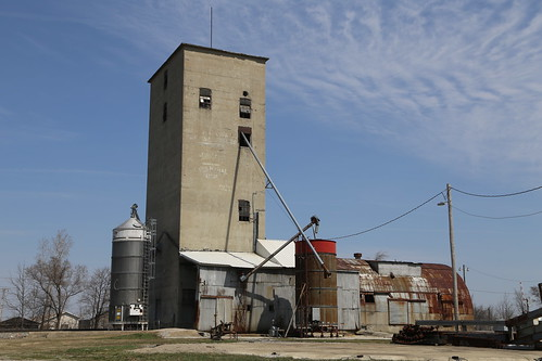 Bryan Ohio, Grain Elevator, Williams County OH