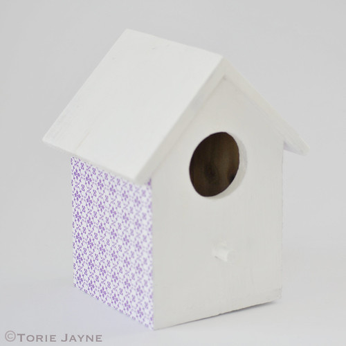 Pretty birdhouse step by step