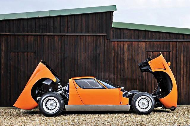 """Lamborghini Miura S """"Jota"""""""