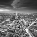 Paris - Eiffel Tower and Cityscape from Above by Vivienne Gucwa
