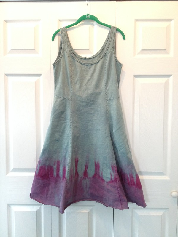 Overdyed camisole dress