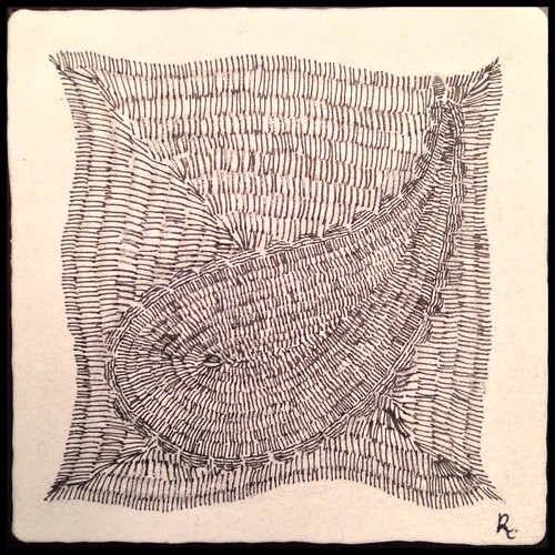 Zentangle 86, for The Diva's Weekly Challenge #203