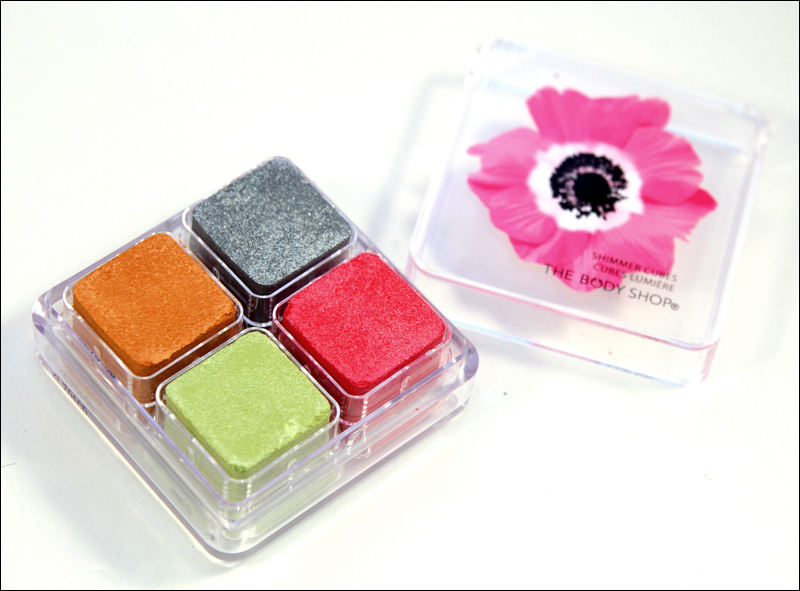 TBS Pink poppy shimmer cubes