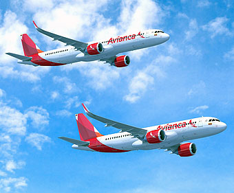Avianca A320neo y A321neo (Airbus)