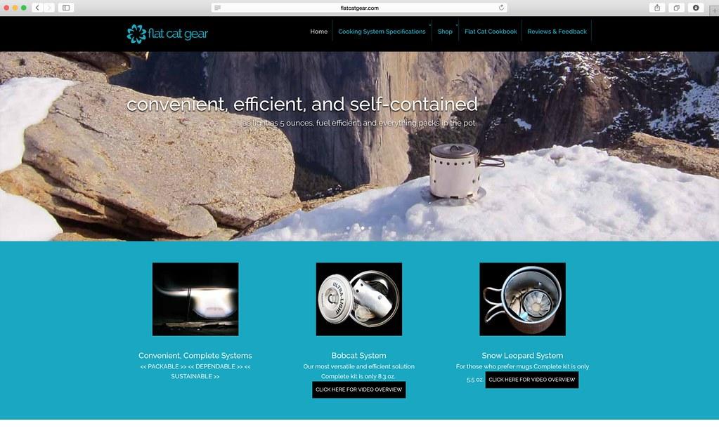 Flat Cat Gear Website