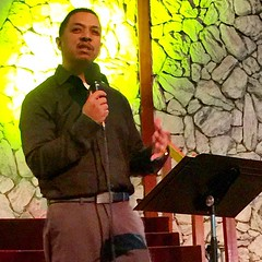 Pastor John Chavez bringing the Word at his Final official service as a staff person of international Christian center. What a fantastic day of celebration as he and his wife Nancy will now be planting a church in the Fruitvale district of Oakland Califor