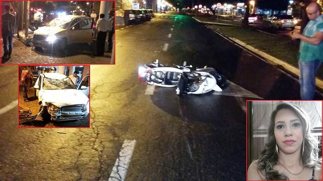 acidente 1402 carro x moto Maringá